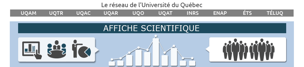 Affiche scientifique logo